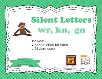 Silent Letters: gn, wr, kn
