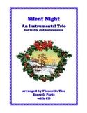 Silent Night Christmas Instrumental Trio score parts mp3 Florentin Tise