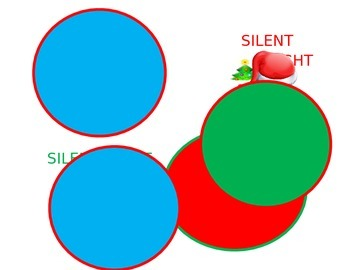 Silent Night Ornament Labels