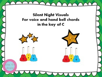 Silent Night Visuals for Voice and Hand Bells