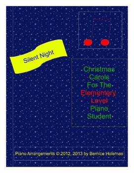 Silent Night from the Christmas Carols collection