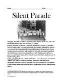 Silent Parade - East St. Louis Riots review article lesson facts info questions