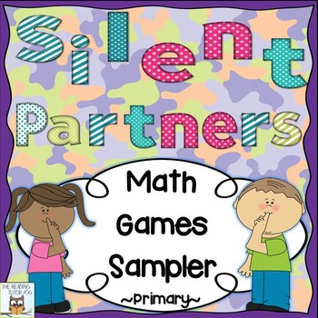 Silent Partners Math Games Sampler