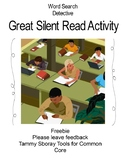 Silent Read Word Search Detective