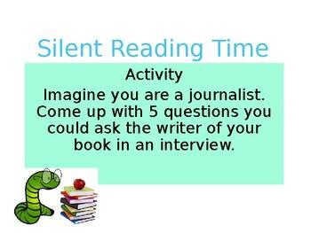 Silent Reading Activities