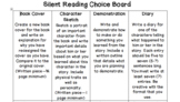 Silent Reading Choice Board