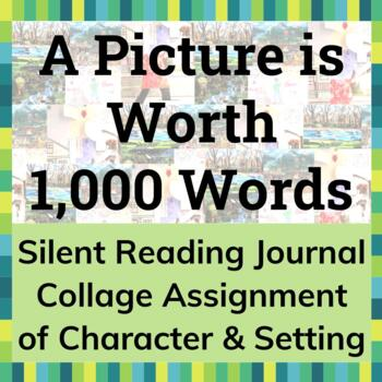 Reading Collage Assignment - Character & Setting (Novel, S
