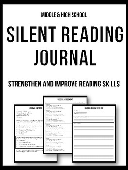 Silent Reading Journal - Independent
