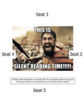 Silent Reading Station 3