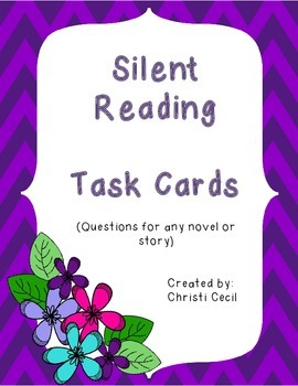 Silent Reading Task Cards