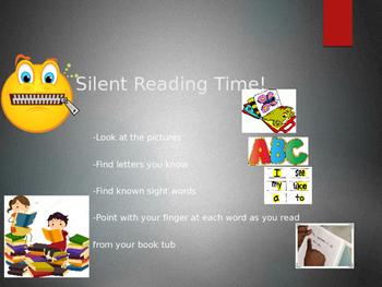 Silent Reading Timer