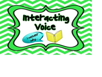 Silent Reading Voices Signs
