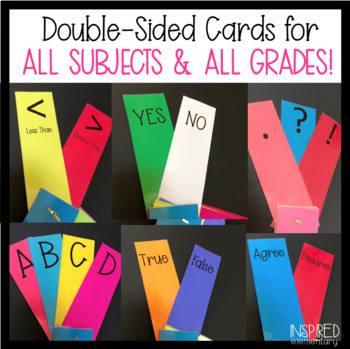 Silent Response Cards: Common Core Assessment Tool for All Subjects!