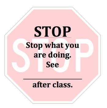Silent Retraining Card: Stop Sign Cards