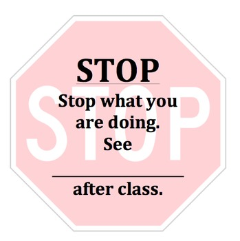 Silent Retraining Card: Stop Sign Cards