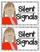 Silent Signals for Classroom Management {Mini Posters} First & Kindergarten
