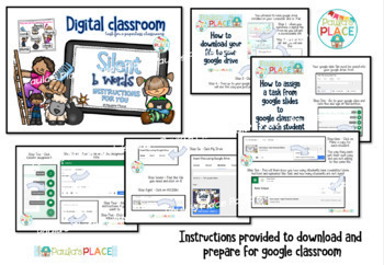 Silent b Digital Google Slide Task