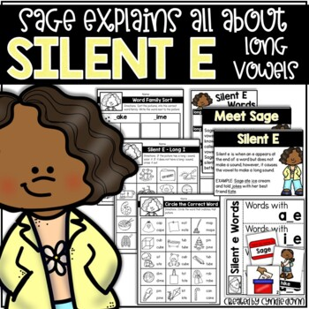 Silent e: Serena Explains All About Silent e