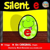 Silent e /CVCe pattern / split digraphs Poem