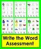 Silent e Cut & Glue & Write the Word Set ONE