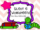 Silent e Activities & Worksheets!
