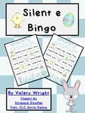 Silent e Bingo Easter Spring Common Core 1.RFS.3c