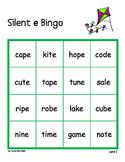 Silent e Bingo - whole class set