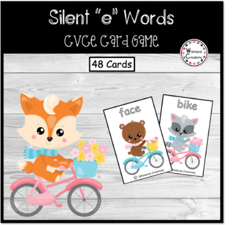 """Silent """"e"""" (CVCe) Card Game (Distance Learning)"""