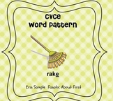 Silent e CVCe word activities for the Smart Board