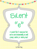 "Silent ""e"" Center Activities, Games, and Practice"