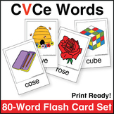 Silent e Flash Card Set