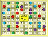 "Silent e Game ""Score Four"""