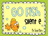 Silent e {Go Fish} Word Work [Reading] Station Center Game