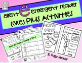 Silent e / Long Vowel CVCE Emergent Reader + Activities