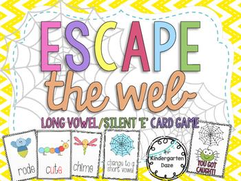 Silent 'e'/Long Vowel Card Game