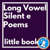 Long Vowel Poems (Little Book): silent e