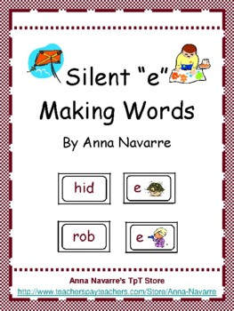 "Silent ""e"" Making Words"