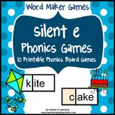 Silent e Phonics Games
