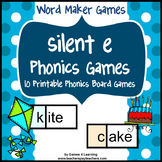 Phonics Center: Long Vowels with Silent e Games and Activities