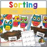 Silent e Phonics Games Kindergarten cvce Owls Game