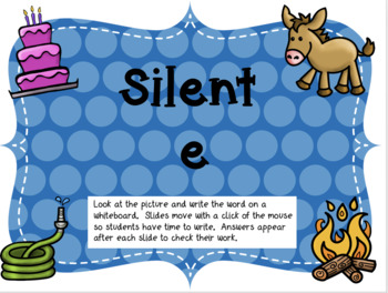 Silent e Power Point Practice    (CVCE)