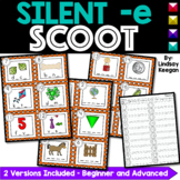 Silent E Game - SCOOT or Write the Room
