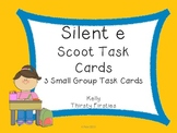 Silent e Scoot Task Cards (3 small group sets)