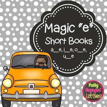 """Silent """"e"""" Short Books"""