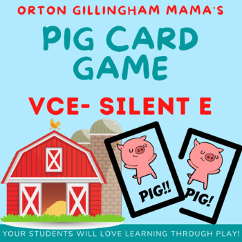 Silent e (Vce) PIG Game