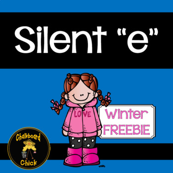 "Silent ""e"" Winter Freebie"