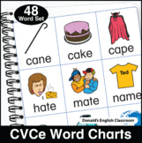 Silent e Word Charts