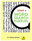 Silent e Word Searches (Distance Learning)