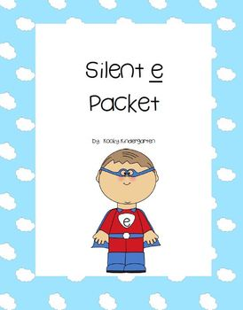 Silent e Writing and Phonics Pack