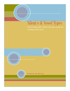 Silent-e and vowel types